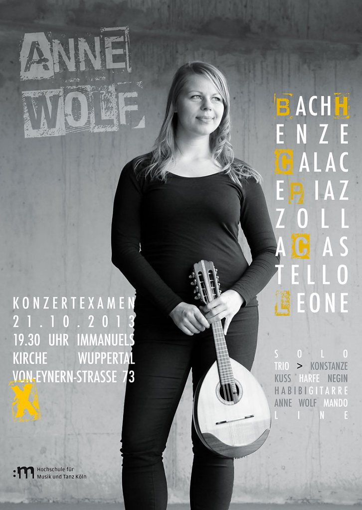 Anne Wolf - Konzertexamen